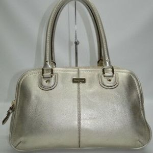 Cole Haan village pebble leather satchel